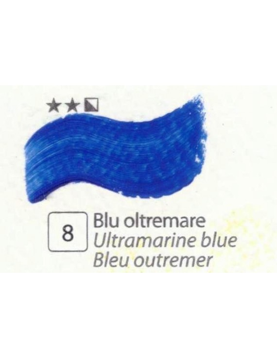 COLORE A OLIO SERIE ACCADEMIA, N.8 BLU OLTREMARE