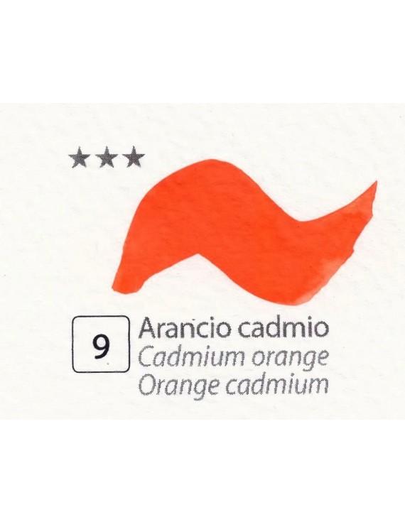 ACQUERELLI  IN GODET 1,5 ML  N.9 ARANCIO CADMIO