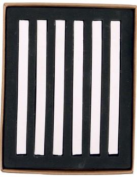 20008 PASTELLI SOFT mm 7x7x92 scatola in cartone da 6 pz. Bianco