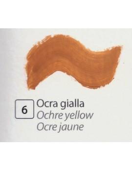 TEMPERA ALL'UOVO  35 ml. OCRA GIALLA