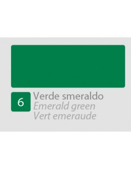 TEMPERA ALLA CASEINA N6 VERDE SMERALDO