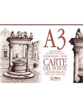 CARTE DEL PONTE- ALBUM DA DISEGNO A3
