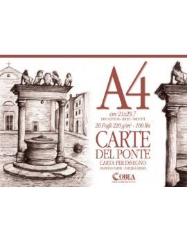 CARTE DEL PONTE- ALBUM DA DISEGNO A4