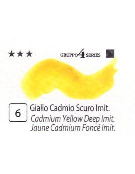 Acquerelli Porto Azzurro ml.20 n.6 Giallo Cadmio Scuro imit.