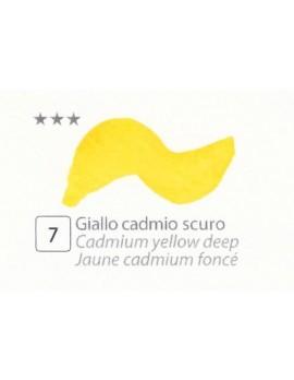 ACQUERELLI  IN GODET 1,5 ML  N.7 GIALLO CADMIO SCURO